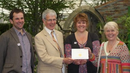 Viridor's Revive compost helps two garden displays win Gold at RHS Chelsea