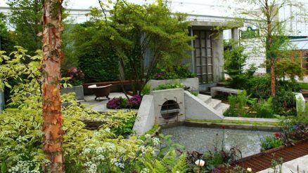 Kate Gould's show garden 'The Wasteland' wins gold at Chelsea Flower Show 2013