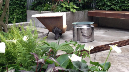 Bath Tub Chair by Kate Gould's 'The Wasteland' - Add a little Chelsea to your own garden